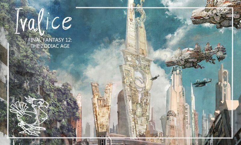 Final Fantasy 12: The Zodiac Age Reiseführer Ivalice